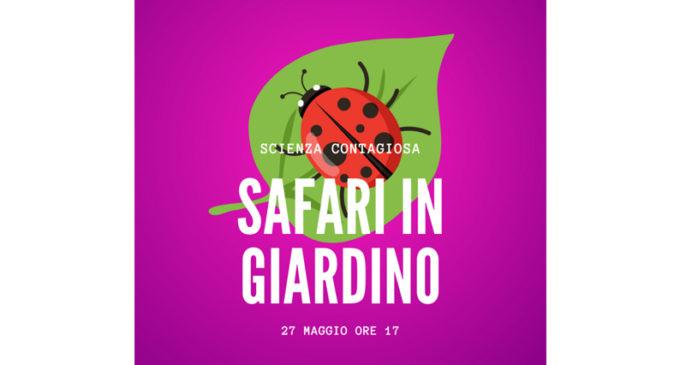 """Frascati Scienza lancia una grande iniziativa: """"safari in giardino"""" – senza andare in Africa"""