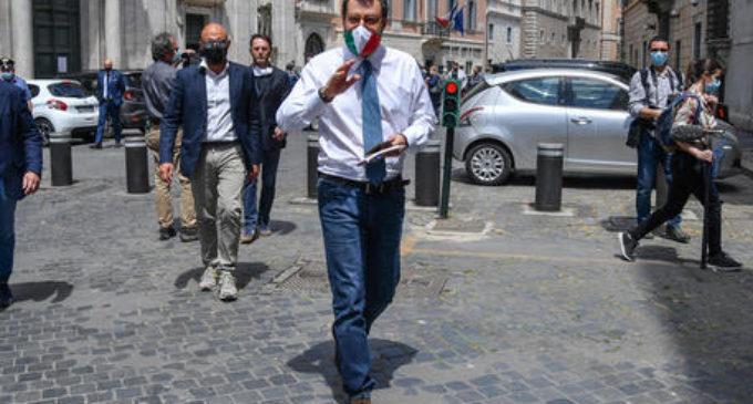 Giunta Senato dice no al processo a Salvini. IV non partecipa al voto