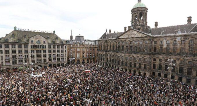 Olanda. Amsterdam in piazza per Floyd: ora è allarme contagio Covid