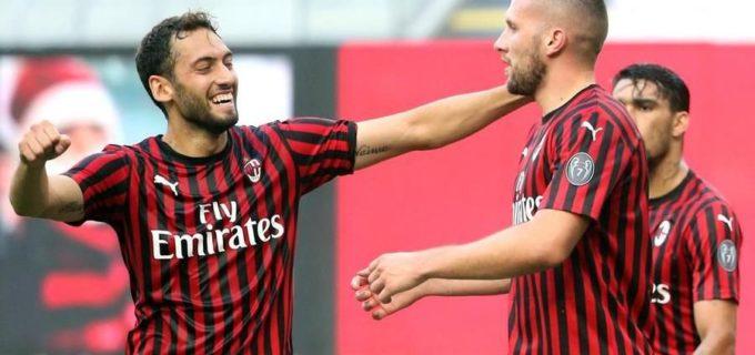 Il Milan stende la Roma e continua la corsa verso l'Europa