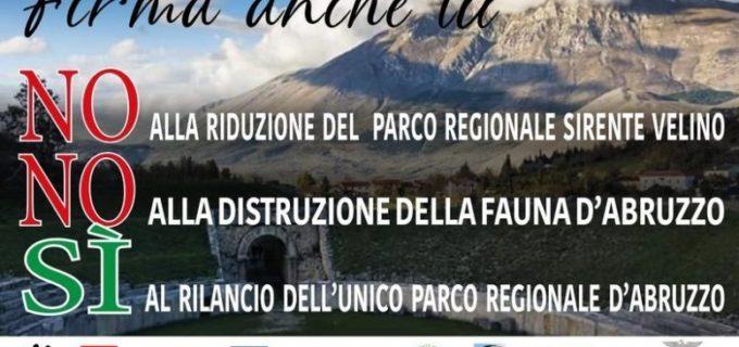 Petizione pubblica: Salviamo il Parco Naturale Regionale Sirente Velino.