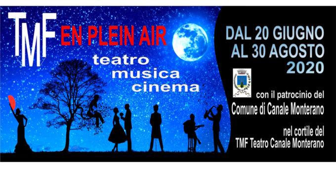 Canale Monterano: Il tmf organizza una rassegna estiva di concerti, spettacoli teatrali e proiezioni cinematografiche