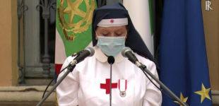 2 giugno: volontaria commossa nel saluto a Mattarella