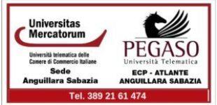 Pegaso, Università Mercatorum ed  ECP Atlante Anguillara Sabazia: cultura e formazione sul territorio