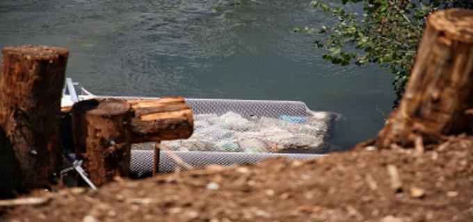 Lazio, Ambiente: Inaugurata la barriera antirifiuti sull'Aniene