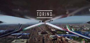 L'Italia vista dalla cabina delle Frecce Tricolori da Trento a Palermo, da Bari a Trieste