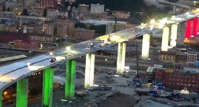 Ponte di Genova: la Consulta boccia l'Aspi, non è illegittimo estromettere Aspi dalla ricostruzione del Ponte Morandi. E' tensione tra M5S e Pd