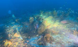 A Ustica è stato trovato un relitto con anfore del II-I sec a.C.