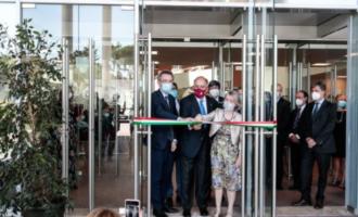 Roma, inaugurato vicino al Sant'Andrea il nuovo padiglione della facoltà di Medicina della Sapienza