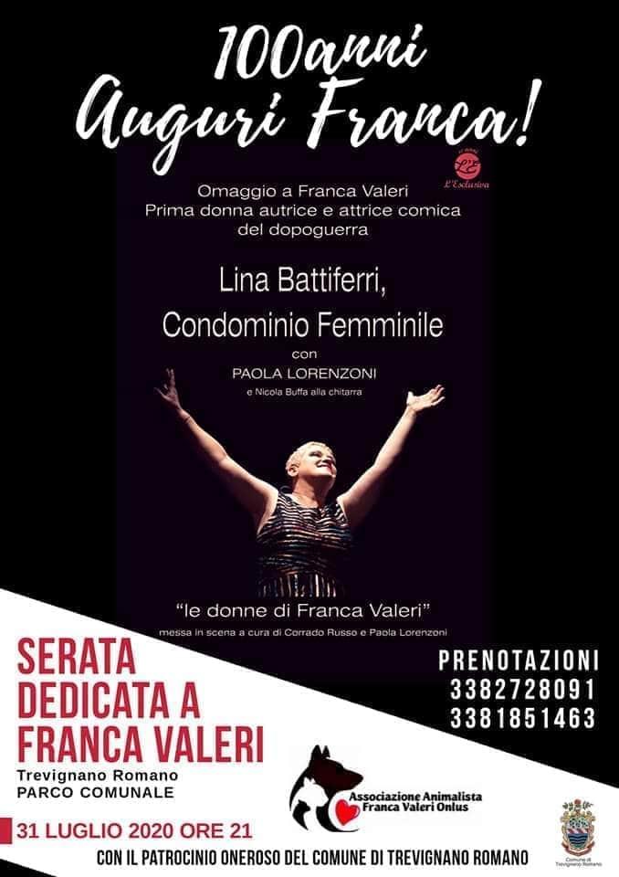 Omaggio a Franca Valeri che compie 100 anni: spettacolo teatrale a ...