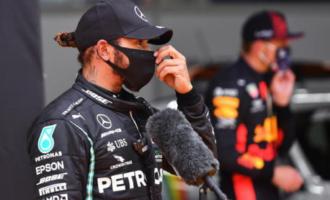 Gp di Stiria: pole a Hamilton, Ferrari nelle retrovie