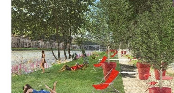 Roma, un parco sul Tevere tra ponte Sisto e ponte Mazzini: un'arena per musica e cultura