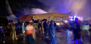 India, aereo esce di pista con almeno 191 passeggeri a bordo