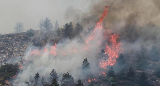 L'Aquila: fuoco a 200 metri da Pettino. Arta, in aumento valori benzene e Pm10