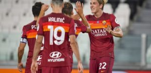 Juventus-Roma 1-3. Roma qualificata all'Europa league. Video