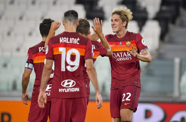 Juventus-Roma 1-3. Roma qualificata all'Europa league. Video ...