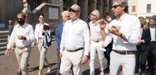 Alberto di Monaco a Rimini, una sfilata regale FOTO