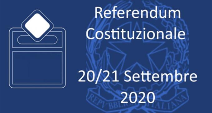Il referendum costituzionale del 20 e 21 Settembre 2020
