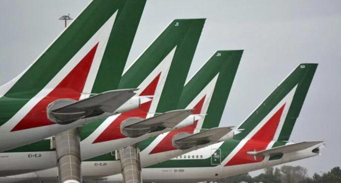 Alitalia, al via test a Fiumicino: tamponi veloci