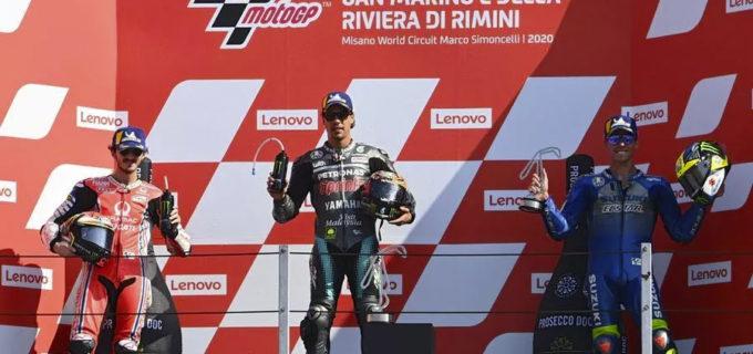MotoGp, doppietta italiana a San Marino