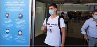 Calcio, Kumbulla atterrato a Fiumicino