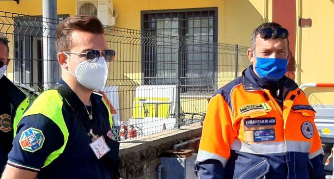 Tanti gli interventi della Protezione Civile a Bracciano a causa del maltempo.