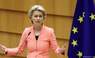 eurodeputato di destra è zittito sui migranti