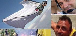 Cremona: con la tuta alare impatta l'aereo, 2 morti