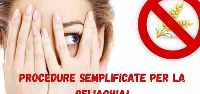 Asl Roma 4: Procedure semplificate per la celiachia