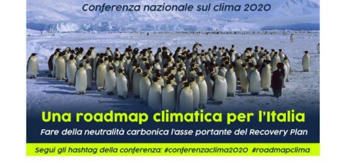UNA ROADMAP CLIMATICA PER L'ITALIA il 13 e 16 OTTOBRE