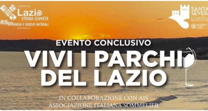 CONCLUSIONE VIVI I PARCHI DEL LAZIO, CASTELLO DI SANTA SEVERA