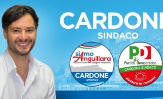 Chiusa la campagna elettorale di Michele Cardone. Video