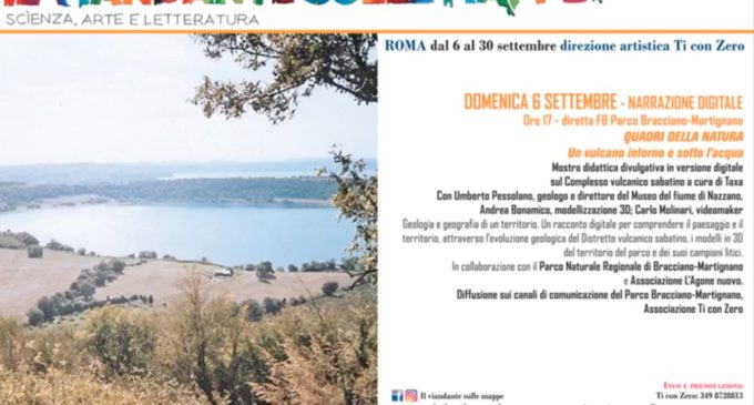 """Diretta facebook dal Parco: """"Il viandante sulle mappe"""""""