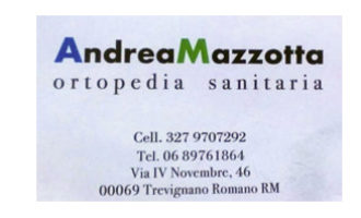 Ortopedia sanitaria Mazzotta Andrea: sostiene il made in italy