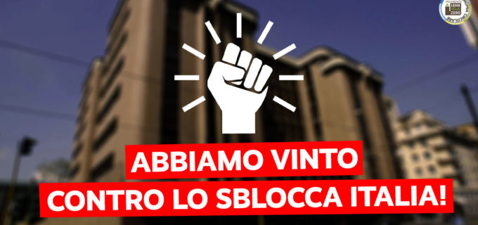 SBLOCCA ITALIA (RENZI): TAR LAZIO ANNULLA IL DECRETO ATTUATIVO SU INCENERITORI