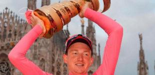 Ciclismo: il Giro è di Geoghegan Hart, a Ganna anche l'ultima cronometro