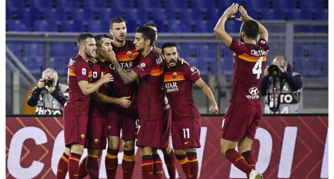 Roma-Benevento 5-2: Dzeko risorge e trascina Fonseca