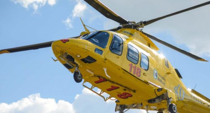 Terribile incidente vicino Bracciano: 5 persone d'urgenza in Ospedale con elicottero