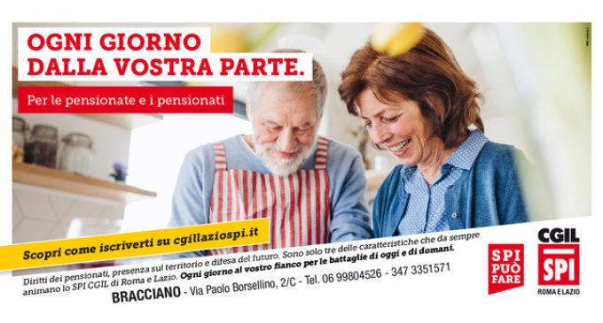 SPI-CGIL Bracciano: per pensionate e pensionati