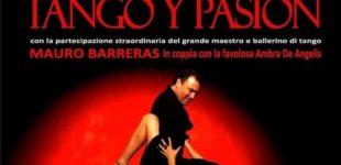 """Il 7 e 8 novembre """"Tango y Pasìon"""" al Teatro di Canale Monterano"""