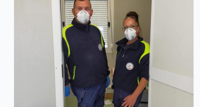 """Protezione Civile di Bracciano: al lavoro presso l'area test COVID-19 del """"Padre Pio"""""""