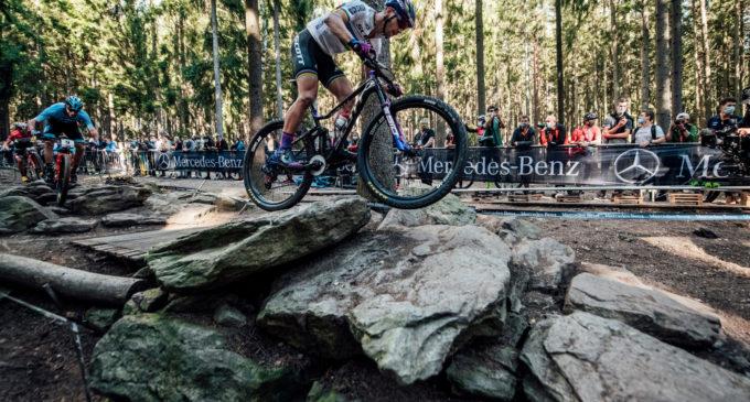 MTB: immagini filmate dei campionati  mondiali ed europei di Mountain Bike