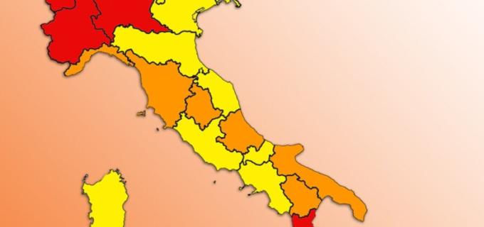 Governo: Si attendono nuove decisioni su zone arancioni – rosse