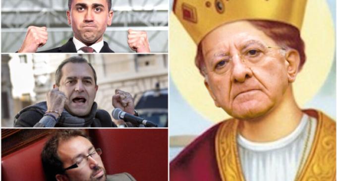 """De Luca, il triplo miracolo e gli attacchi ai ministri grillini e a de Magistris: """"Imbecille"""""""