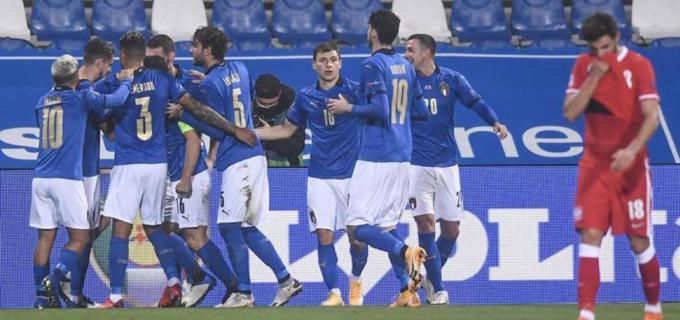 L'Italia batte la Polonia. mercoledì a Sarajevo contro la Bosnia-Erzegovina