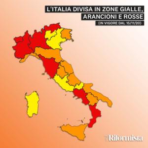 Campania zona rossa: cosa cambia, era zona gialla | LAGONE