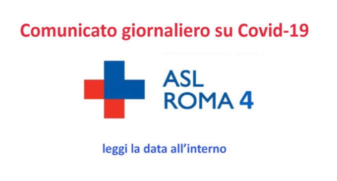 ASL ROMA 4: SITUAZIONE DEL COVID IL GIORNO 22 NOVEMBRE 2020