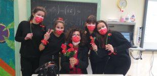 Bracciano, L'Istituto Comprensivo contro la violenza sulle donne: Il flash mob dei ragazzi