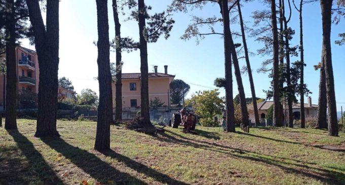 San Martino, al via i lavori nel parco