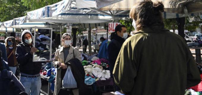 Nel Lazio, stop weekend mercati e maxi store